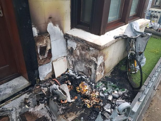 Arsonist Targets Wrong Home & Traps Terrified Family in Cardigan, West Wales