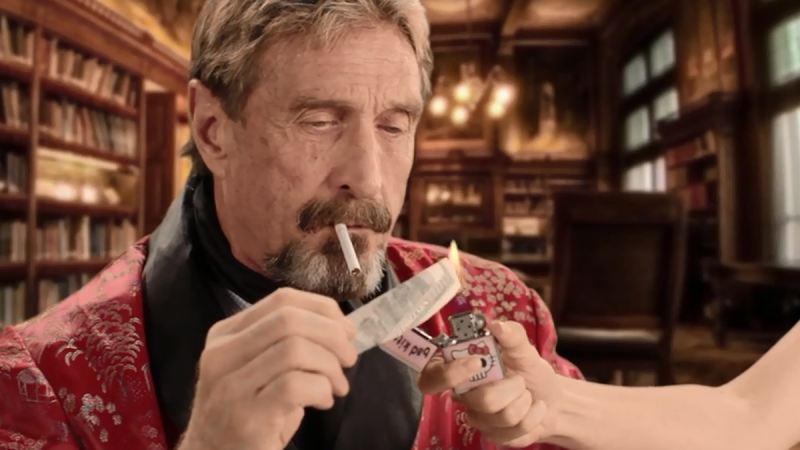 Anti Virus Billionaire McAfee BUSTED in Spain's Barcelona