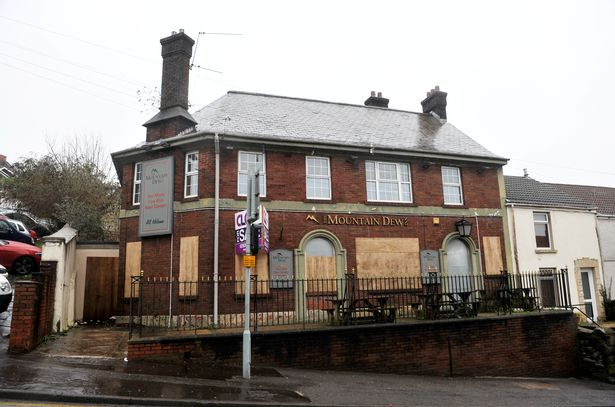 Cannabis Farm Found in Abandoned Pub Near Police Station in Mount Pleasant, Swansea