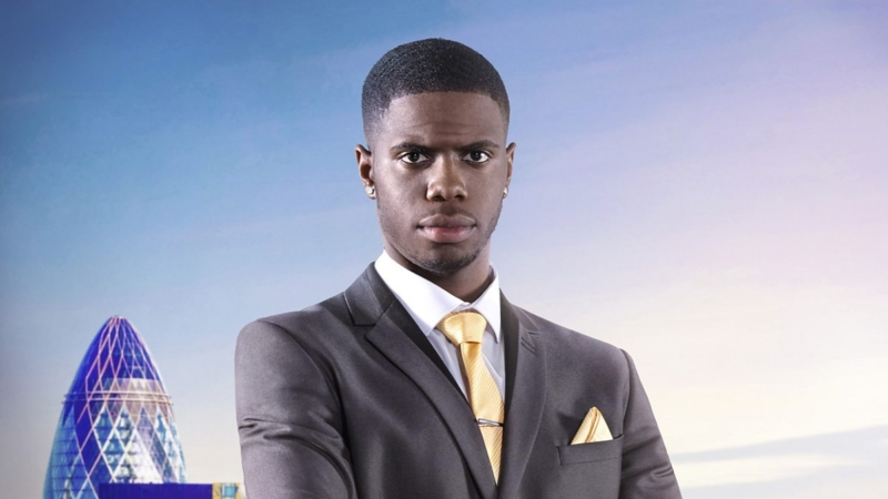 Apprentice Star Kayode Damail upset as girlfriend has a bathroom foursome with 4 guys