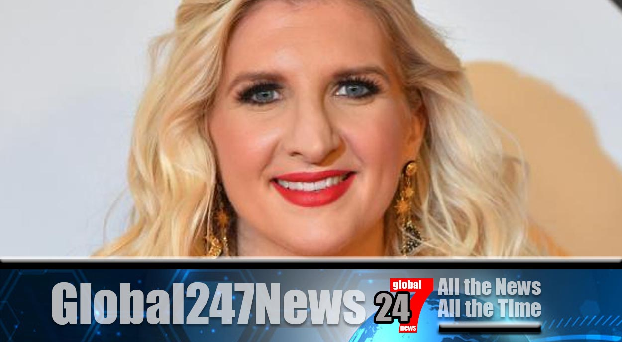 Retired swimmer Rebecca Adlington reveals that she is expecting a boy