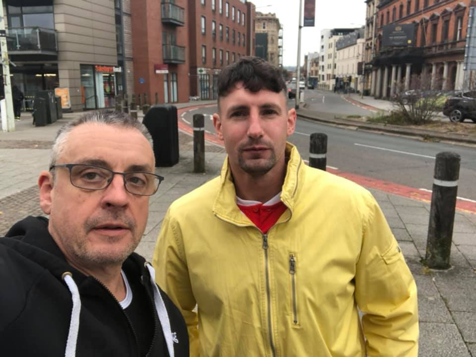 Drakeford should be in prison with his son claims Welsh anti COVID protester