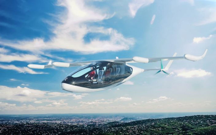 Flying Taxis operation set for Spain