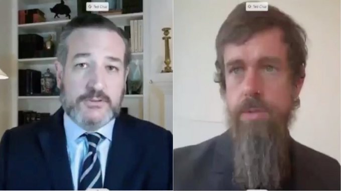 'You broke the law!' Senator Ted Cruz angrily grills Twitter CEO over censorship and restricting Hunter Biden stories