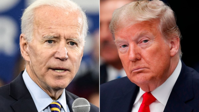 Watch as Trump campaign outraged as Biden says Trump will 'steal election'
