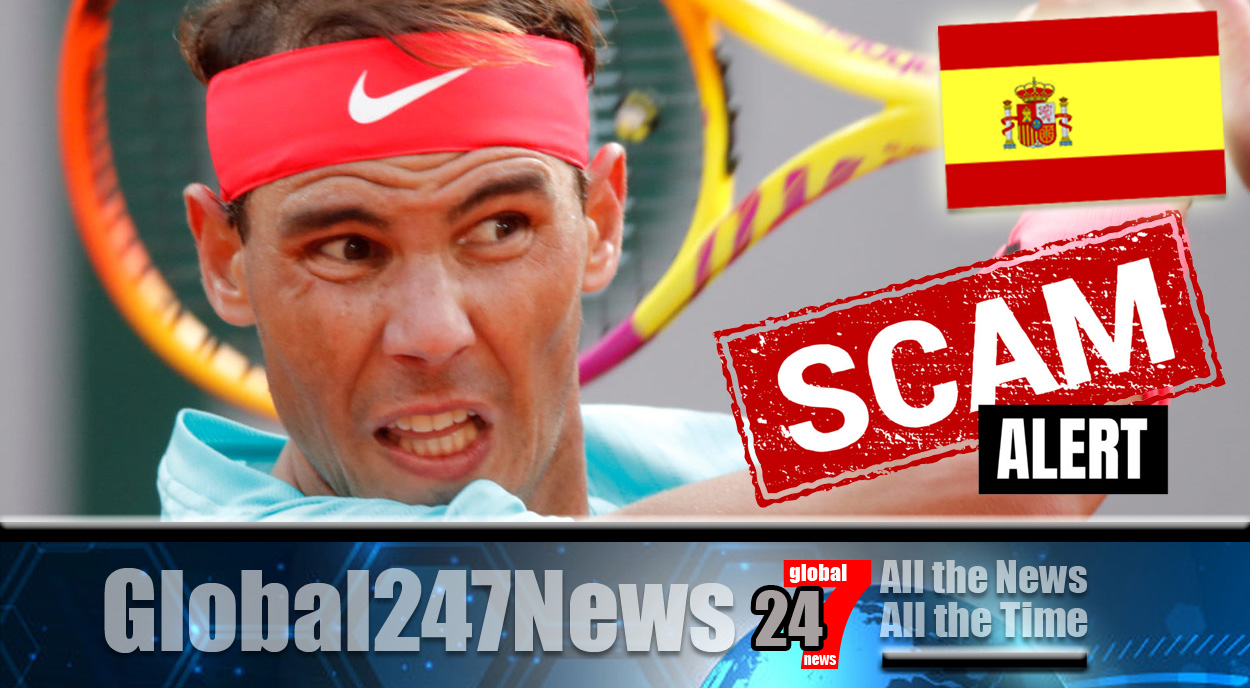 Nadal warns of online scams using his name: The famous Spaniard is one of the most prominent figures in tennis, with many sponsorship deals and his own Rafa Nadal Foundation.