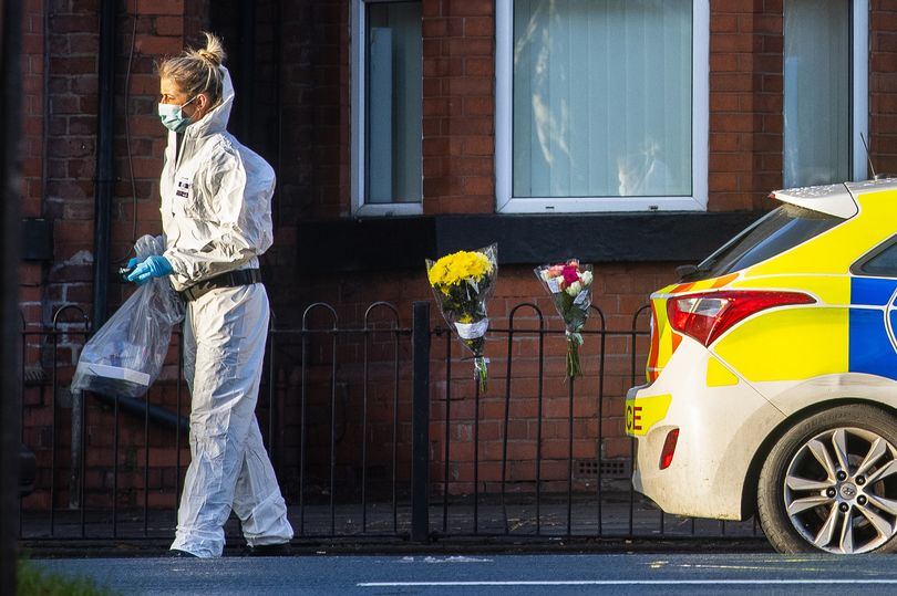 Two men and a woman found dead at a house in Failsworth have been named.
