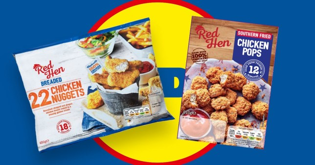Yeovil and Sherborne recall by Lidil of popular chicken nuggets