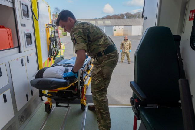 British Army Deployed To Support Wales COVID battle