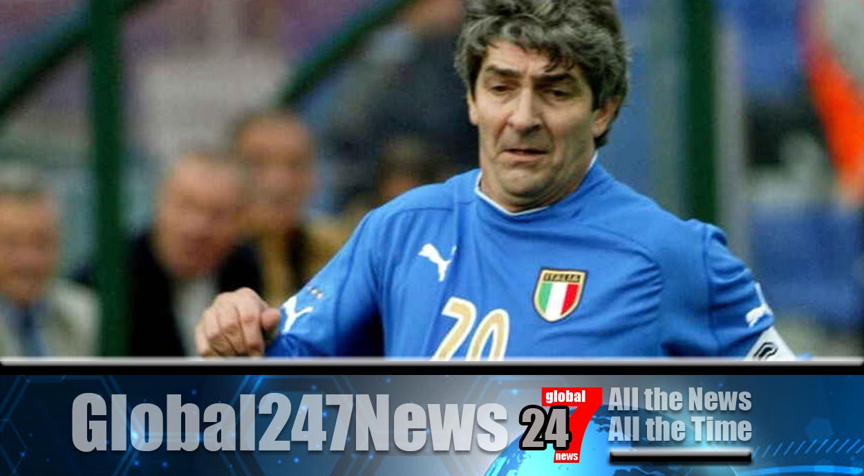 Italian football legend's home burgled during his funeral