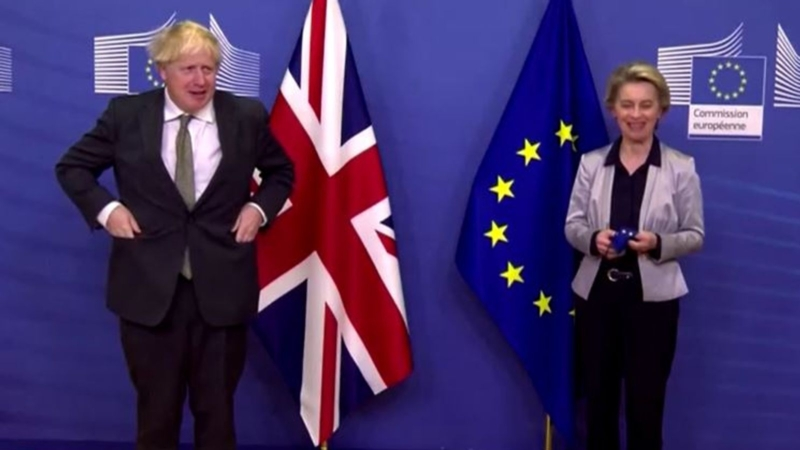 Boris Brussels Dinner Date A Flop As No Deal Brexit Looms