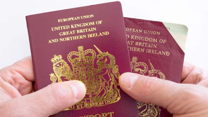 Post-Brexit Passport Rules Could See Millions Of Britons Denied Entry To Europe.