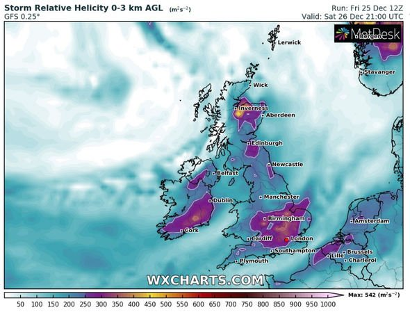 Britain braces for a battering from Storm Bella