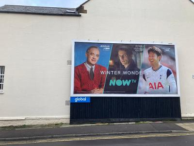 Globals advertising boards cause uproar in East London This Morning