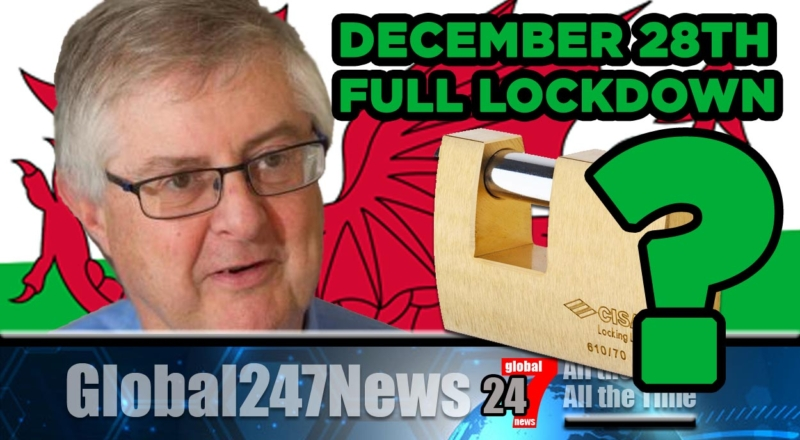 Mark Drakeford considering a 6/7 week FULL lockdown from December 28th