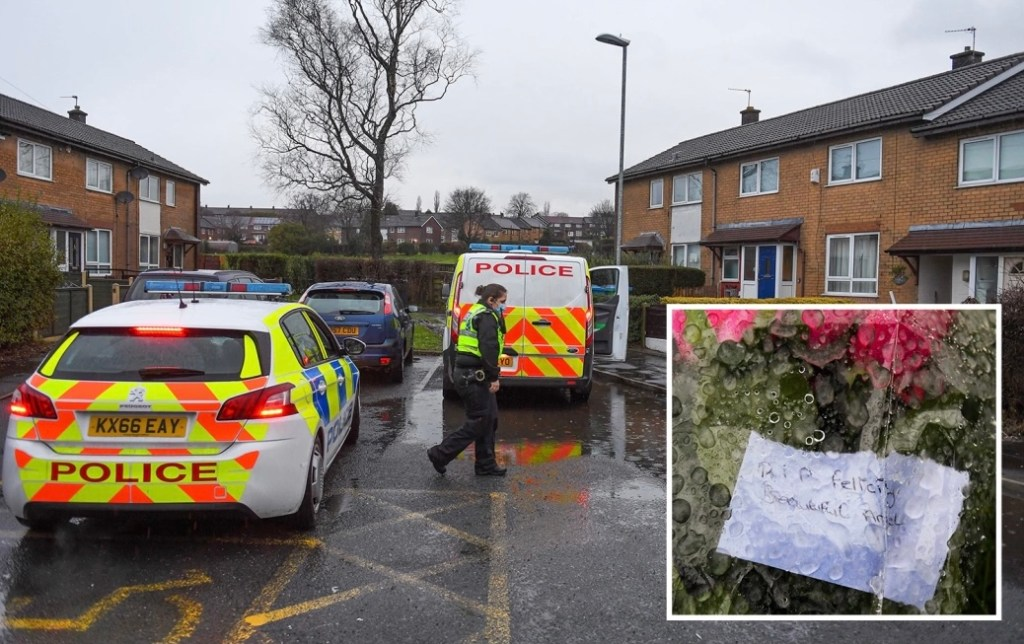 Tributes flow for 'beautiful angel' after two-week-old baby girl dies and man, 24, arrested on suspicion of murder