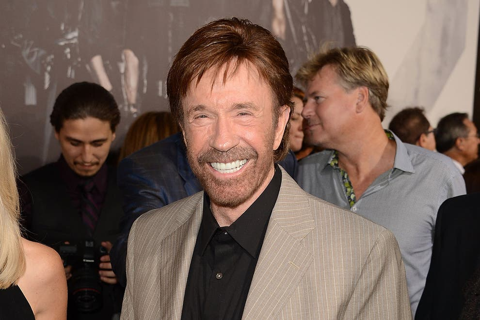 Chuck Norris Selfie at Capitol Hill riots is FAKE NEWS according to his manager