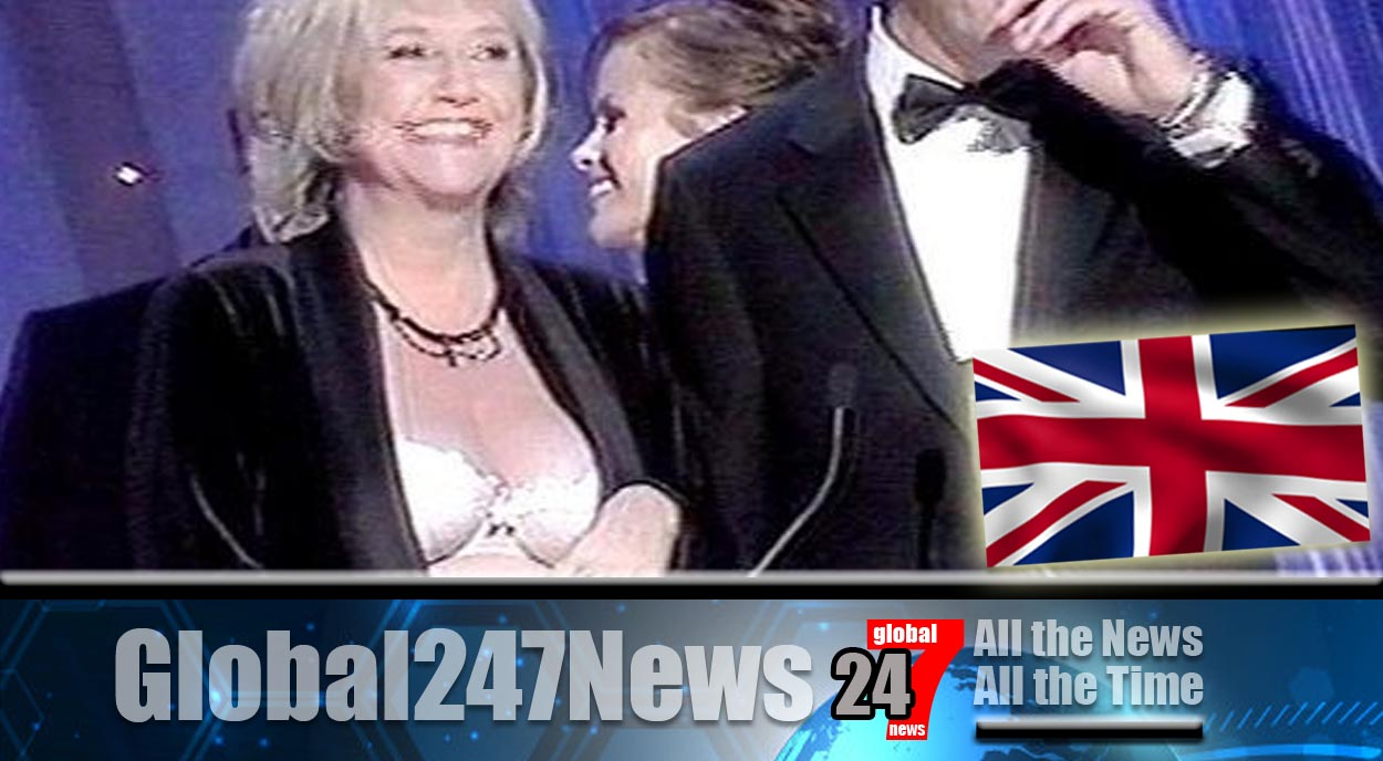 Judy Finnigan's daughter looks back at 'that moment' her Mum flashed at awards show