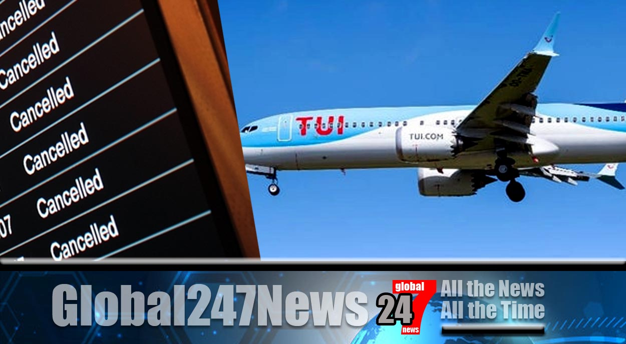 TUI cancels all holidays until mid February