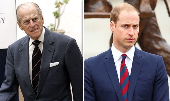 Prince William updates on Prince Phillip