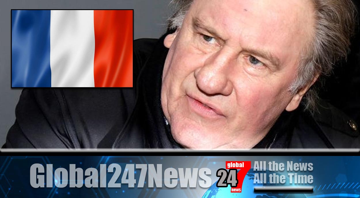 Gerard Depardieu charged with rape and sexual assault