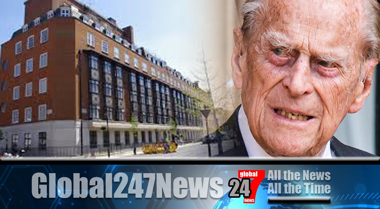 Prince Philip spends sixth night in King Edward VII hospital