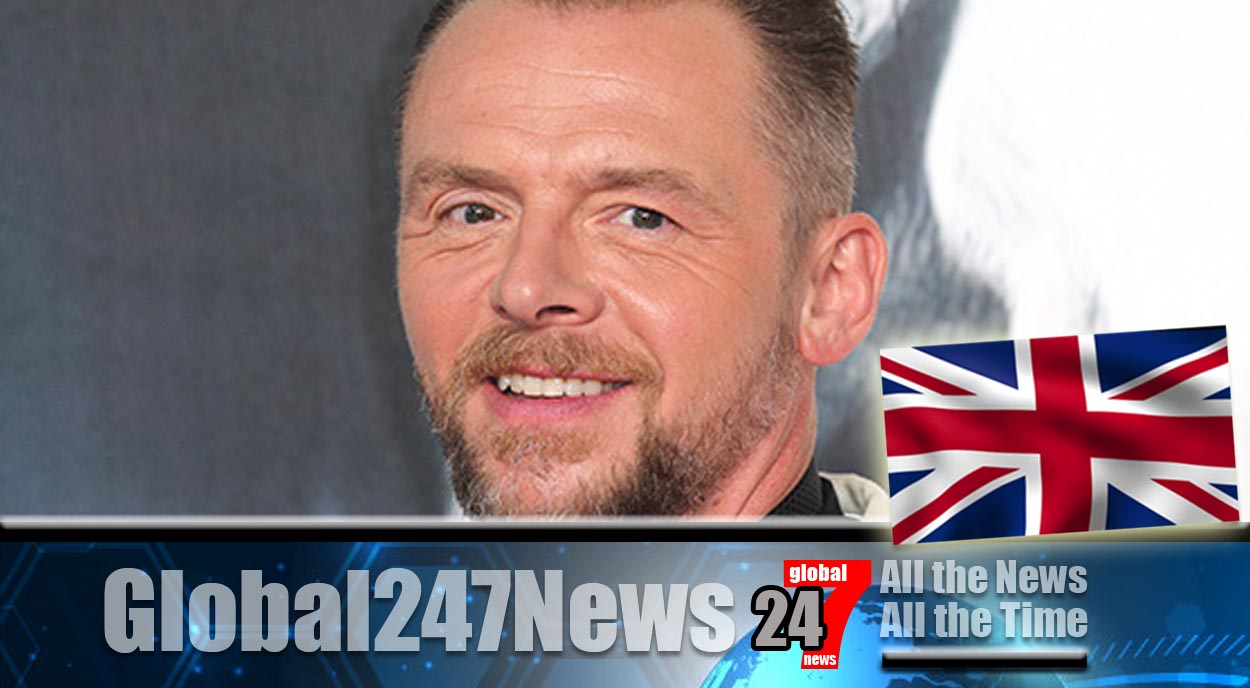 Simon Pegg banned from driving for six months