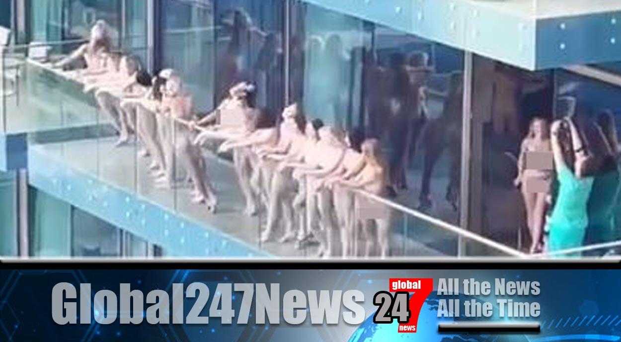 Dubai naked photoshoot women will be deported