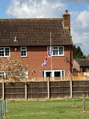 Yeovil has the most private half mast flags in Somerset says Royalist