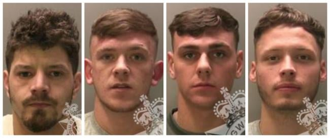 Newport Heroin Gang Jailed For 33 Years Combined