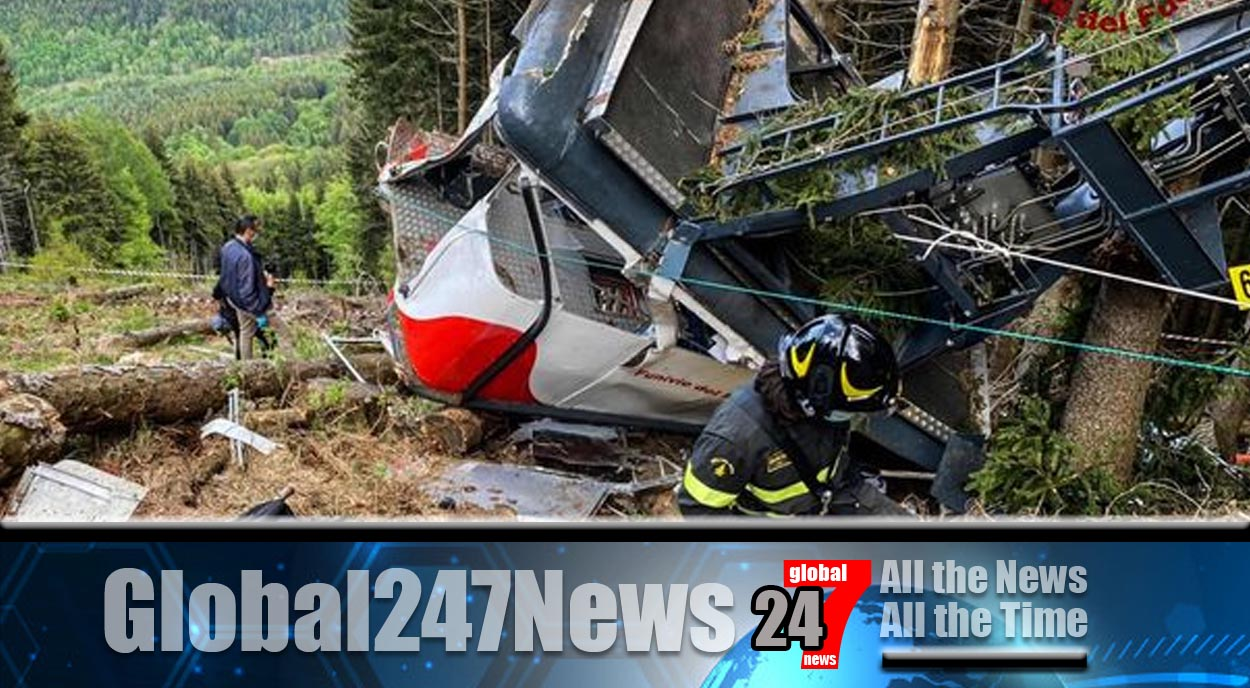 Italian cable car accident claims 14 lives
