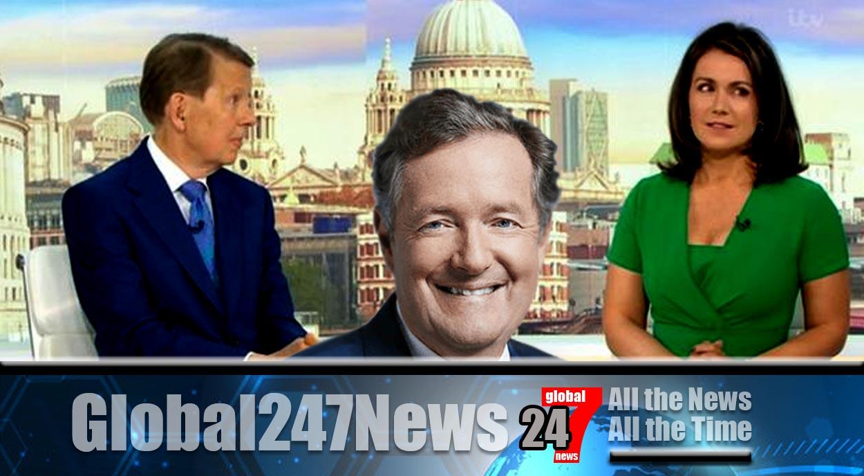 Bill Turnbull leaves Susanna Reid speechless after joke about Piers Morgan on GMB