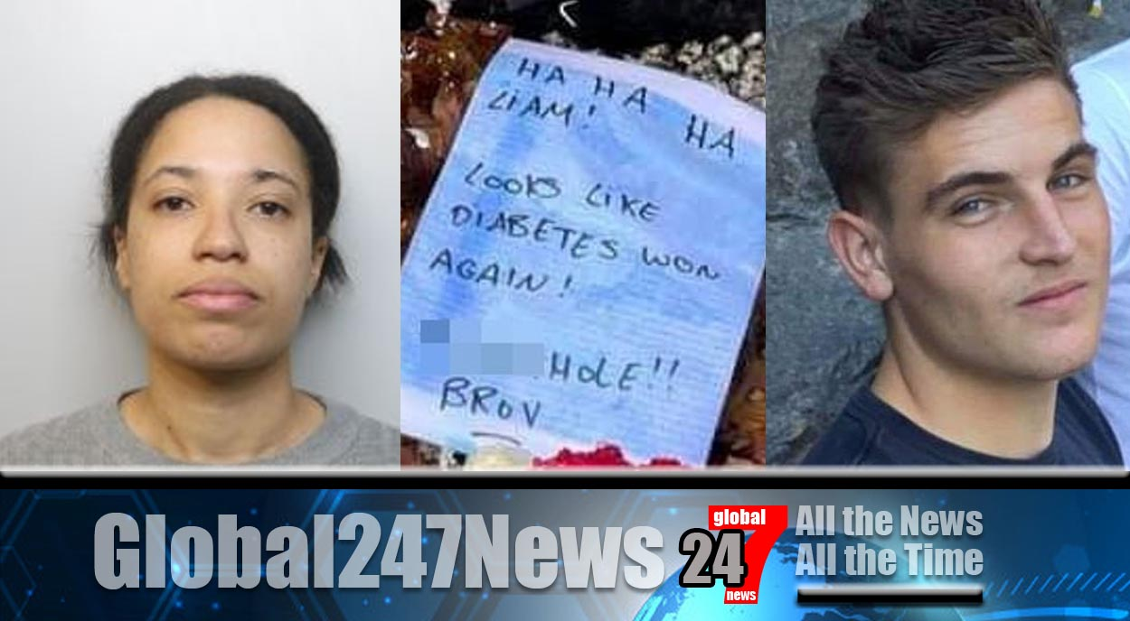"""Bristol Woman who left """"sick and disgusting"""" note on grave is jailed"""
