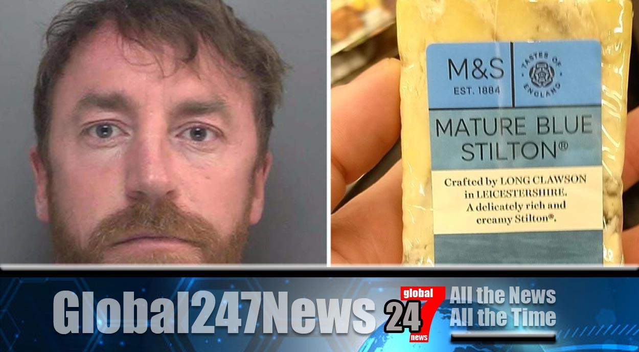 Say cheese! Drug dealer caught from fingerprints on M&S stilton
