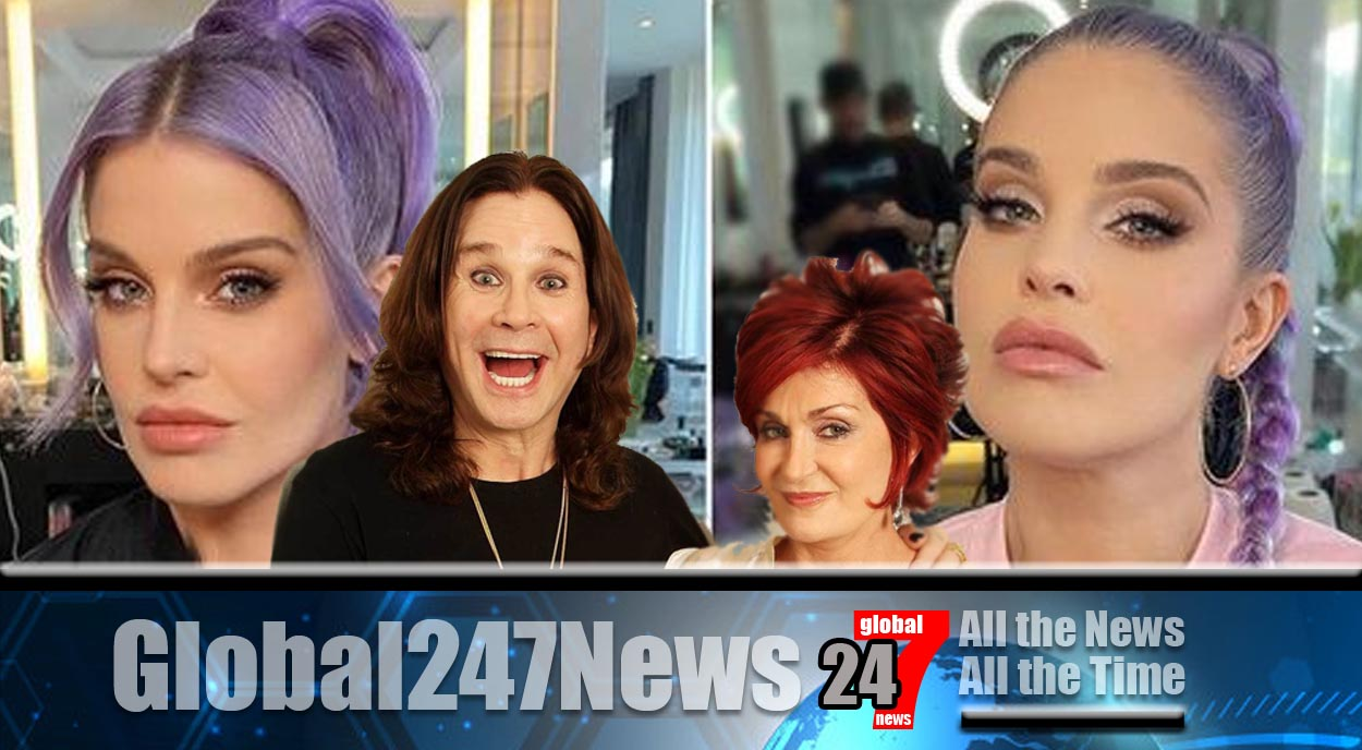 Ozzy and Sharon's daughter Kelly reveals new look