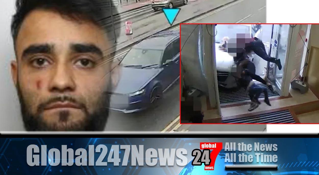 Drugged up driver hits car and pram