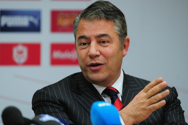 Football With Brownie calls Cardiff Chairman Dalman To Face Up And Prove He's Not A Liar