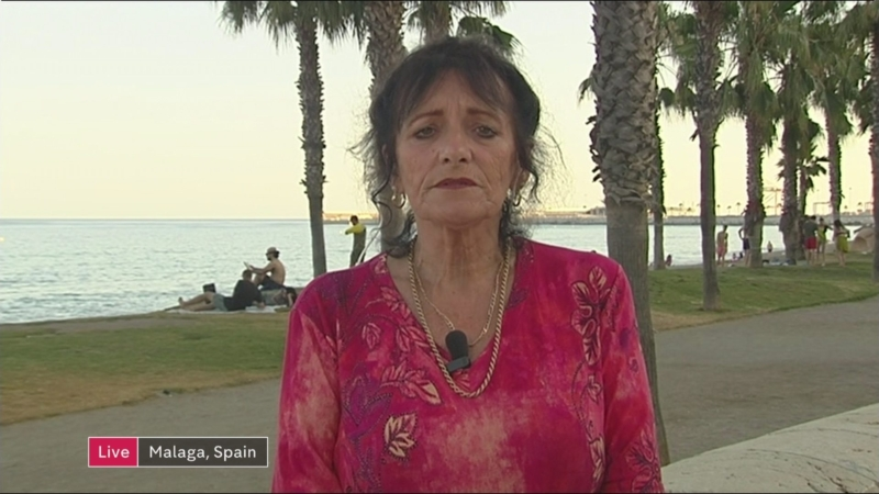 Anne Hernandez MBE From Spain's Costa del Sol takes UK MP's To Task Over EU Vaccination