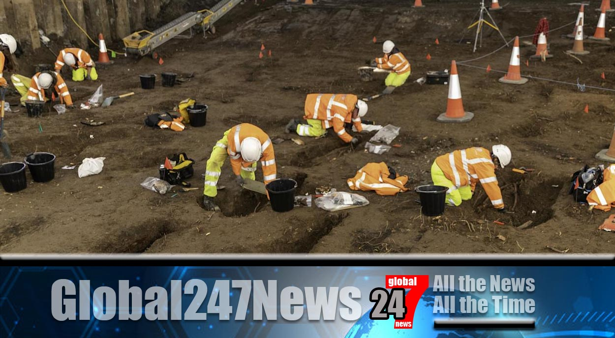 Thousands of bodies unearthed during roadworks in Hull