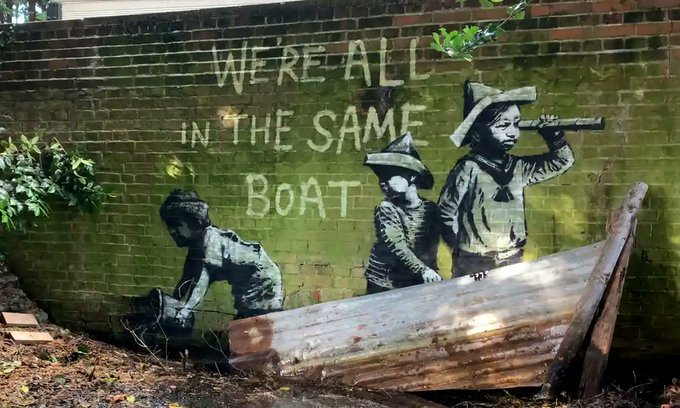 Banksy On Staycation In Suffolk Claims As New Art Appears