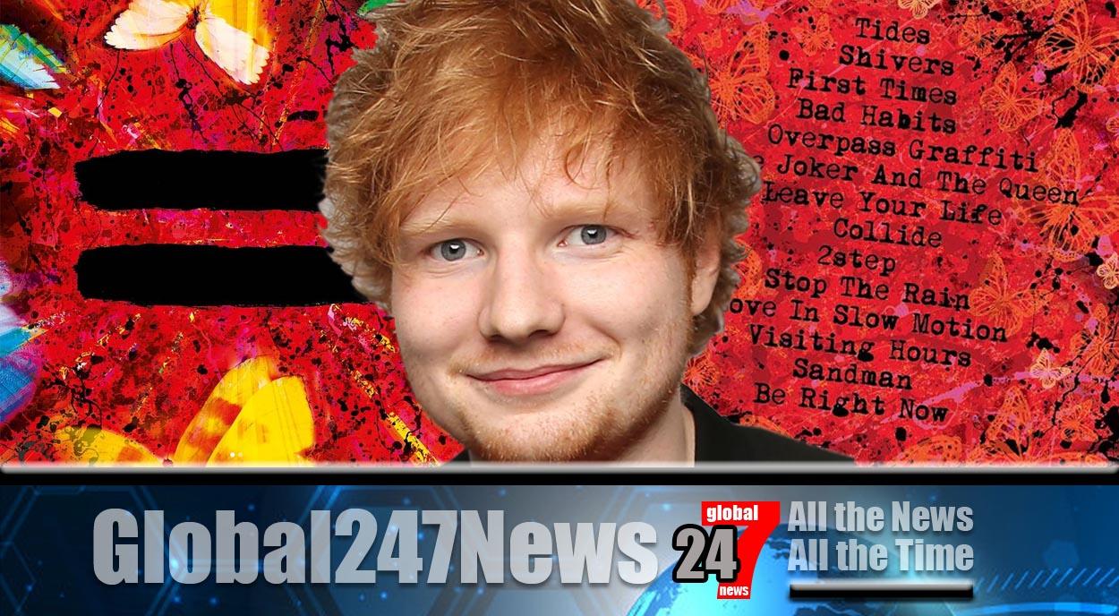 2022 Stadium Tour announced by Ed Sheeran