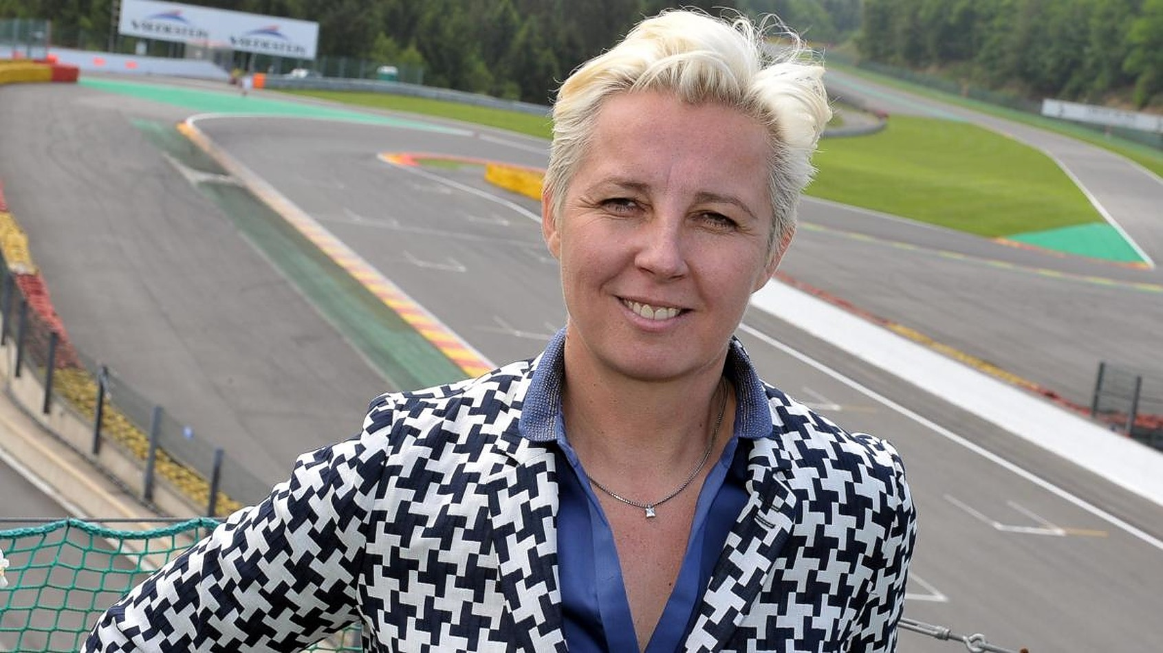 F1 Circuit Director NATHALIE MAILLET Has Head Blown Off By Husband