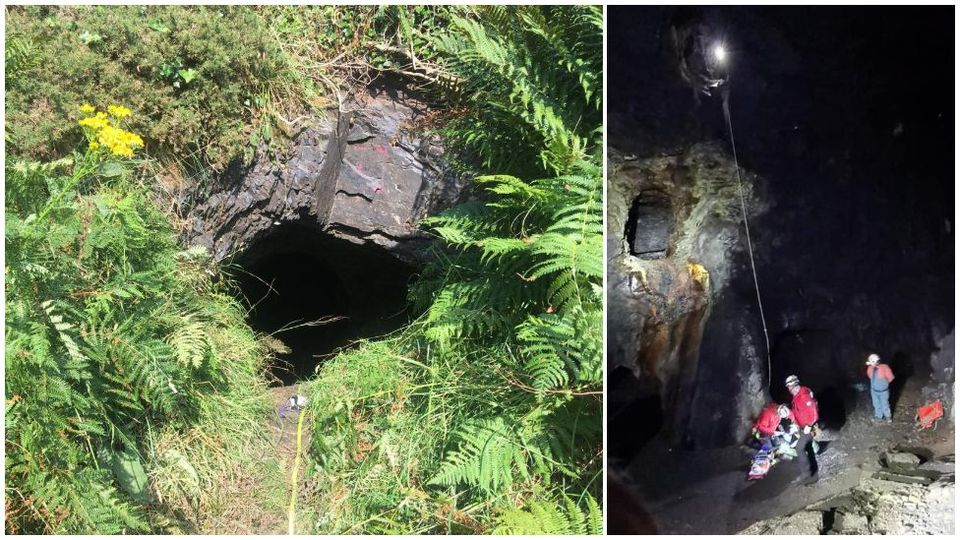Mine Shaft Rescue Sees Man Airlifted To Hospital In Wales