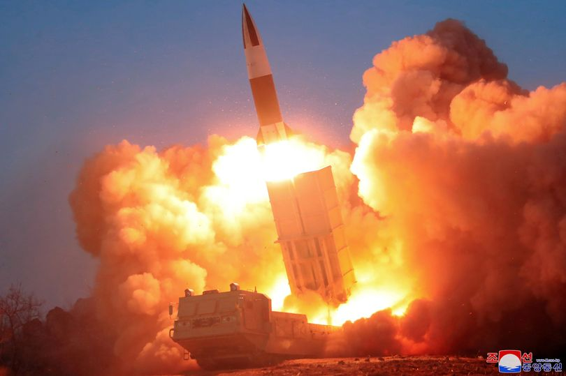 NORTH KOREA launch missile that heads to Japan sparking WW3 fears